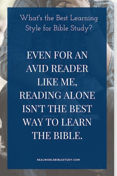 What is the best learning strategy for Bible study? The best strategy considers how we learn. William Glasser said we learn only 10% of what we read...but 95% of what we teach to someone else. - https://www.realworldbiblestudy.com