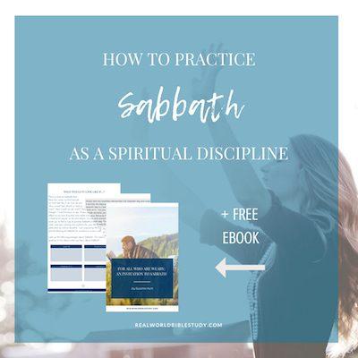 How to Practice Sabbath as a Spiritual Discipline