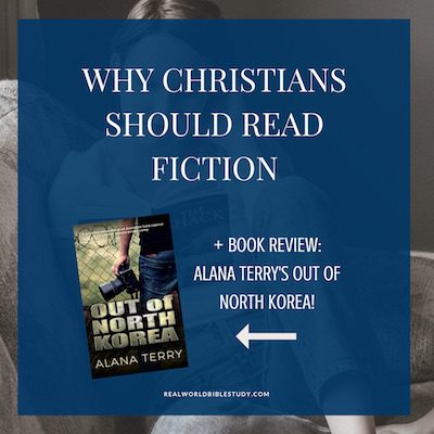What does fiction have to do with Bible study? Read more, and a review of Alana Terry's latest suspense, too! - https://www.realworldbiblestudy.com