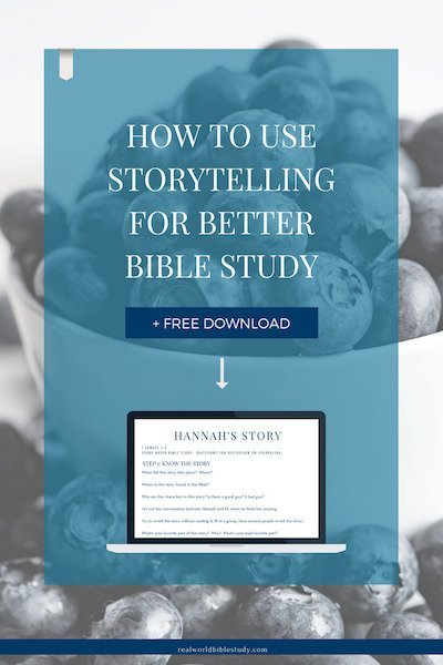 Storytelling and Bible study? It's how Jesus did it. So I thought I would try. Here's what I learned: 3 simple ways you can use storytelling for better Bible study. + free study guide! - https://www.realworldbiblestudy.com