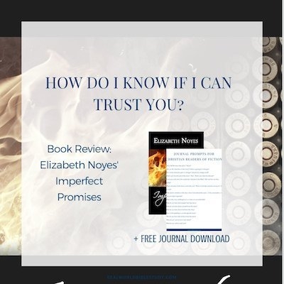 Trust is a hard thing. And sharing your secrets is hard too. It will take arson, a smothering community, a puking socialite, and a homegrown terrorist to help these two learn to trust. Review of Elizabeth Noyes' Imperfect Promises - https://www.realworldbiblestudy.com