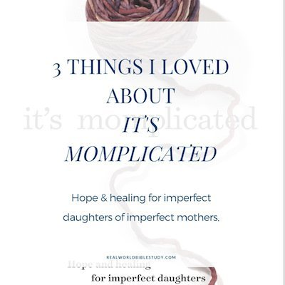 "Relationships with our moms are complicated. Or should we say ""momplicated?"" + enter the giveaway! - https://www.realworldbiblestudy.com"