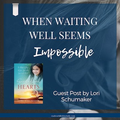Lori's an adoptive mom (and a bio mom) who has spent a LOT of time waiting. Here are her 9 tips for waiting well. Guest post by Lori Schumaker - https://www.realworldbiblestudy.com