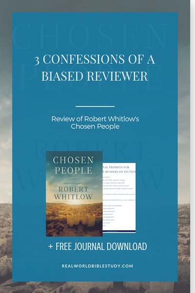 He didn't sweep things under the rug. He let the crunchy things be crunchy. Review of Chosen People by Robert Whitlow - https://www.realworldbiblestudy.com