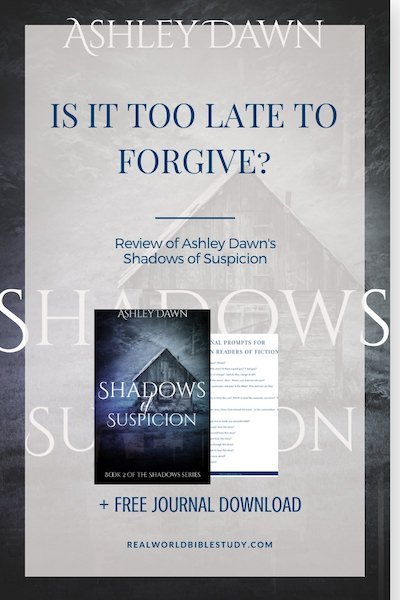 Luke's been burned...by his preacher father. He'll never trust the church again, and it has to be too late to forgive, right? Review of Ashley Dawn's Shadows of Suspicion - https://www.realworldbiblestudy.com