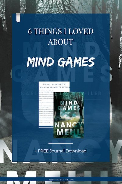 Reading fiction can help you relax, give you perspective, make you sit up and take notice. Mind Games by Nancy Mehl was no exception. One of my new favorites! Here's my #bookreview, a #free download, and a #giveaway! - https://www.realworldbiblestudy.com