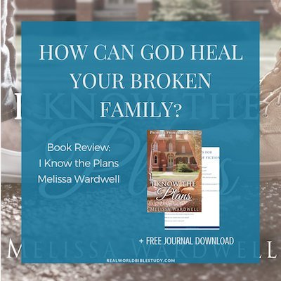 My #bookreview of I Know the Plans by Melissa Wardwell, plus a #free journal download and a #giveaway! - https://www.realworldbiblestudy.com