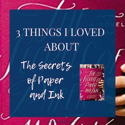 The Secrets of Paper and Ink was a lovely past-present story of healing and restoration in the midst of broken relationships. Read my #bookreview here. https://www.realworldbiblestudy.com