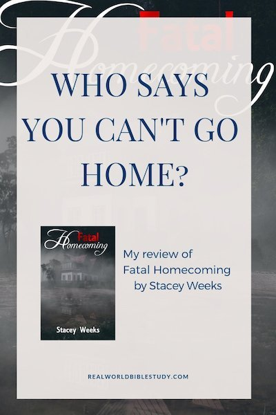 But what if you can't go home? That's what it was like for Jessie when her family left town after her father was accused of conning half the town's pensions. Everyone hated them. Even years later, her brother moved back into their old family home, and wound up dead. My review of Fatal Homecoming. thecafescholar.com