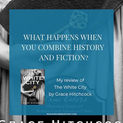 The best match ever: history + fiction. Throw in a serial killer and I'm sold. Read my review of The White City by Grace Hitchcock (and enter the giveaway too!) - https://www.realworldbiblestudy.com