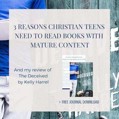 My review of The Deceived by Kelly Harrel, and why teens should read books with mature content. Oh, and a #giveaway of an Amazon gift card! - https://www.realworldbiblestudy.com