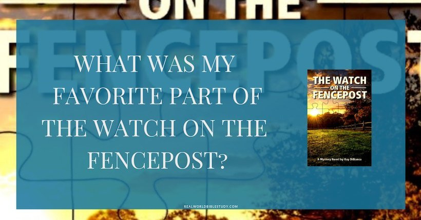 My #review of #cozymystery The Watch on the Fencepost by Kay DiBianca, + #free download and #giveaway! - https://www.realworldbiblestudy.com