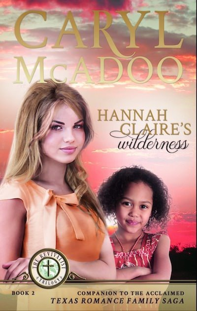 Have you read a good missionary story lately? Here's my review of Hannah Claire's Wilderness by Caryl McAdoo. Enter the giveaway and get the free journal download at thecafescholar.com. #bookreview #seventies #missionary #africa #pastorswives #christianfiction #bookclub #celebratelit