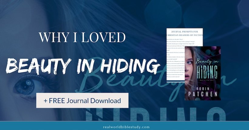 This ex-con is on the run...to save an old man's life. Read my review of Beauty in Hiding at thecafescholar.com.