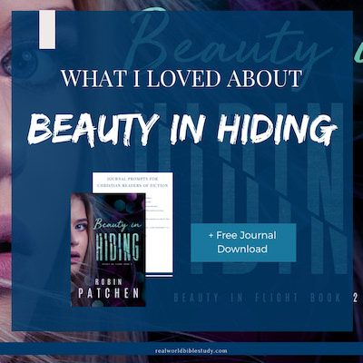 This ex-con is on the run...to save an old man's life. Read my review of Beauty in Hiding at realworldbiblestudy.com.