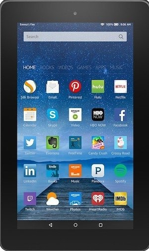 Kindle fire giveaway.