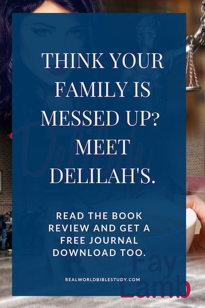 Delilah. If I had to sum it up: GREAT book. Lousy cover. A little pet peeve. Laugh out loud funny. Tough issues. Messed Up Families. Read the book review, get the free journal download and enter the giveaway at realworldbiblestudy.com. #review #christianfiction #legaldrama #free #giveaway #kindleunlimited