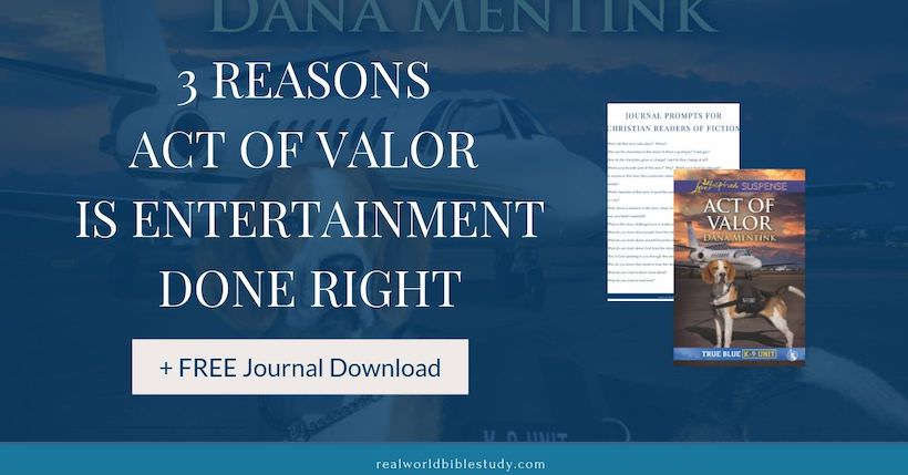 3 Reasons Act of Valor is Entertainment Done Right. Read the book review at realworldbiblestudy.com.