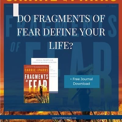 Do Fragments of Fear Define Your Life? Tavish is stuck in fear and anxiety. She can't seem to move forward. Until her life depends on it. Read my review of Fragments of Fear by Carrie Stuart Parks at realworldbiblestudy.com, and don't forget to enter the giveaway! #giveaway #bookreviews #christiansuspense #christianfiction