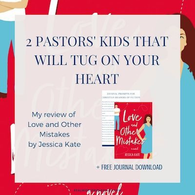 These 2 pastors' kids will tug on your heart. Also, look out for baby disasters. Read my review of Jessica Kate's Love and Other Mistakes at realworldbiblestudy.com. #bookreviews #christianfiction #romanticcomedy #pastorskids