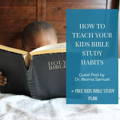 boy reading Bible. How to teach your kids Bible study at realworldbiblestudy.com